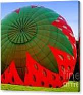 A Strawberry Balloon Canvas Print