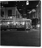 A Streetcar In Nola Canvas Print
