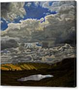 A Summer Day On Cottonwood Pass Canvas Print