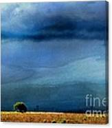 A Summer Rain Wc Canvas Print