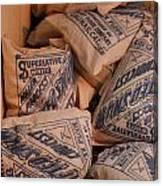 A Supply Of Flour Canvas Print