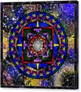 A Surrealistic Mandala Canvas Print