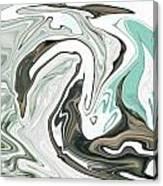 A Swan Canvas Print