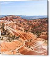 A Sweeping Vista At Bryce Canyon  Canvas Print