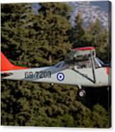 A T-41d Trainer Aircraft Canvas Print