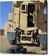 A Talon Mark 2 Bomb Disposal Robot Canvas Print