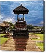 A Temple Canvas Print