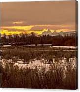 A Teton Dawn In Spring Canvas Print