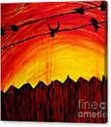 A Texas Sunrise Canvas Print
