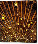 A Thousand Candles - Tunnel Of Light Canvas Print