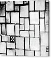 A Tiled Wall Canvas Print