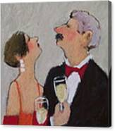 A Toast To Us Canvas Print