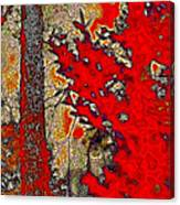 A Touch Of Autumn Abstract Vii Canvas Print