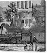 A Train Of The Camden & Amboy Canvas Print