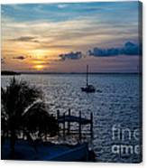 A Tranquil Conquering Of The Night Canvas Print