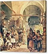 A Turkish Bazaar Canvas Print
