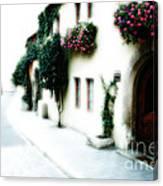 A Tuscan Street Canvas Print
