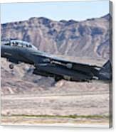 A U.s. Air Force F-15e Strike Eagle Canvas Print