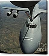 A U.s. Air Force Kc-135r Stratotanker Canvas Print