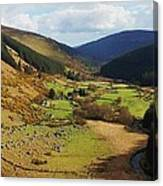 Natural Beauty In Wicklow, Ireland Canvas Print
