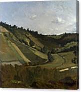 A Valley Canvas Print