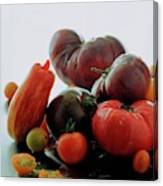A Variety Of Vegetables Canvas Print