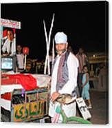 A Vendor In Alexandria Egypt Canvas Print