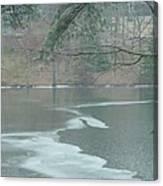 A Very Cold Rain Canvas Print