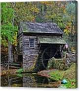 A Very Old Grist Mill Canvas Print