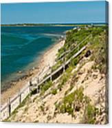 A View From Chappaquiddick Island Marthas Vineyard Massachusetts Canvas Print
