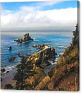 A View From Ecola State Park Canvas Print