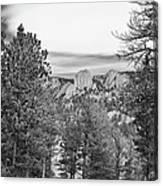A View From Estes Park Canvas Print
