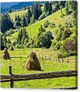 A View From The Carpathians Canvas Print
