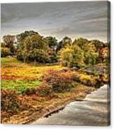 A View From The Old North Bridge Canvas Print