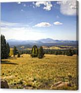 A View From The Peaks  Canvas Print