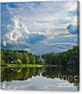 A View From The Shore Canvas Print
