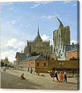 A View In Cologne Canvas Print
