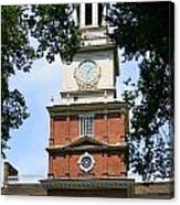 A View Of Independence Hall Canvas Print