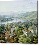 A View Of Karlsruhe Canvas Print