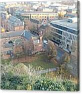A View Of Nottingham Canvas Print