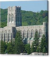 A View Of The Cadet Chapel At The United States Military Academy Canvas Print