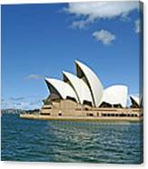 A View Of The Sydney Opera House Canvas Print