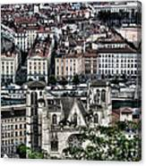A View Of Vienne France Canvas Print