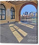 A View To Nyc Canvas Print