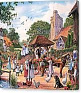 A Village Wedding Canvas Print
