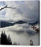 A Walk In The Clouds Canvas Print