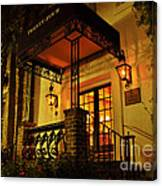 A Warm Summer Night In Charleston Canvas Print