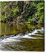 A Waterfalls Beginning Canvas Print