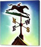 A Weather Vane Canvas Print