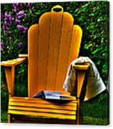 A Well Deserved Rest Canvas Print